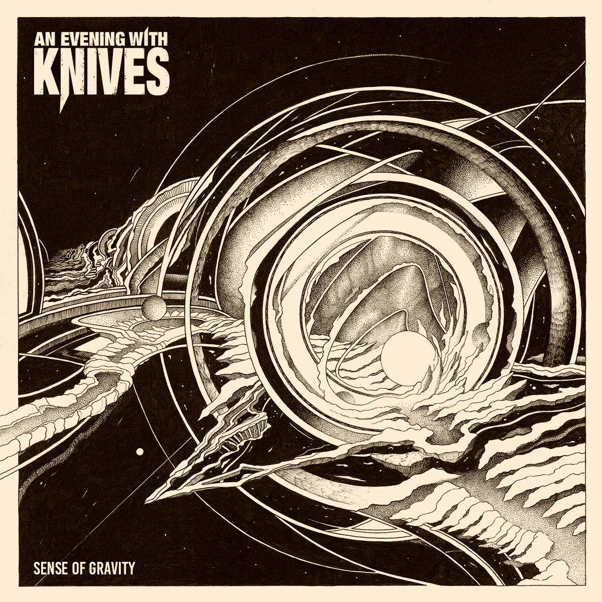 An Evening With Knives   Sense of Gravity front low res